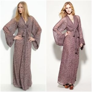 Winter Kate Silk Kamakura Maxi Dress size S